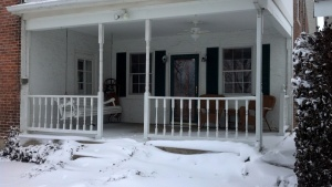 outside side porch